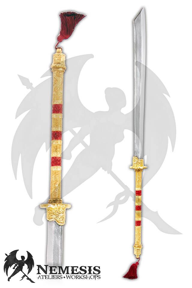 larp custom long dao sword