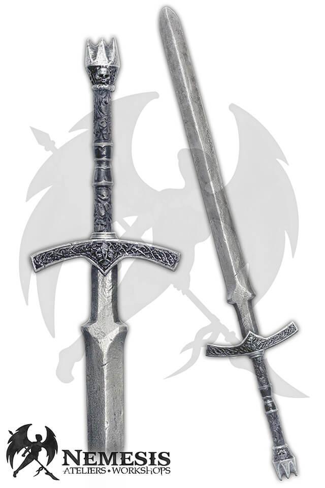 larp custom sword historique shull