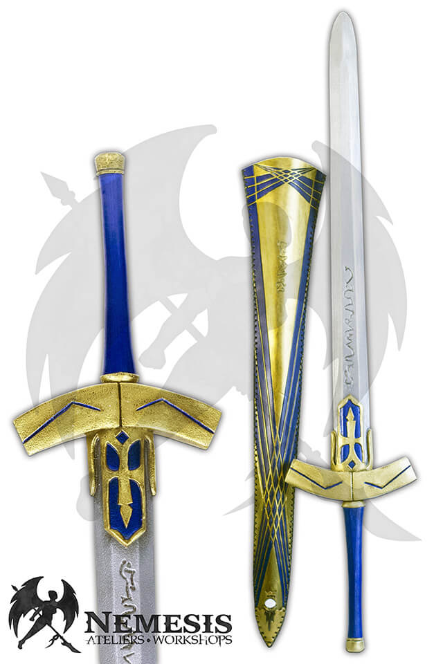 larp custom sword scabbard cosplay