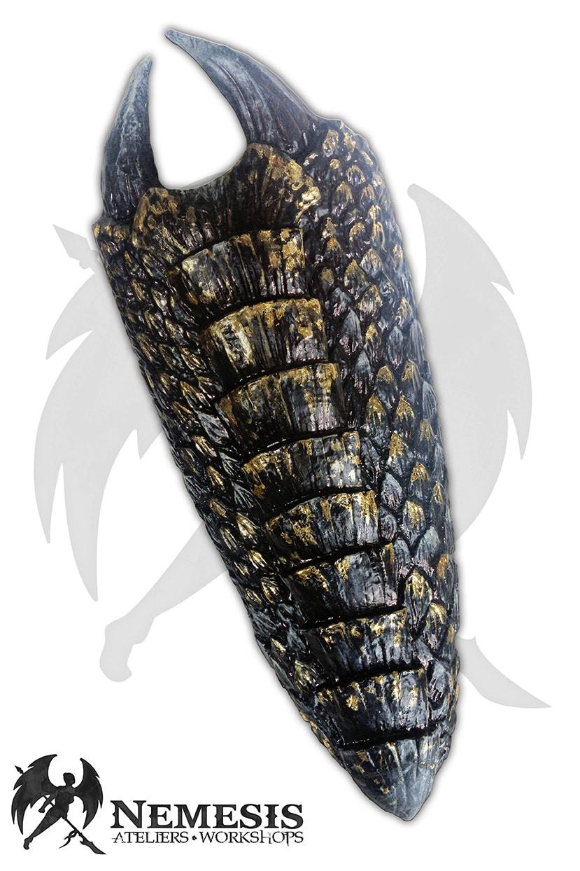 LARP custom dragon shield