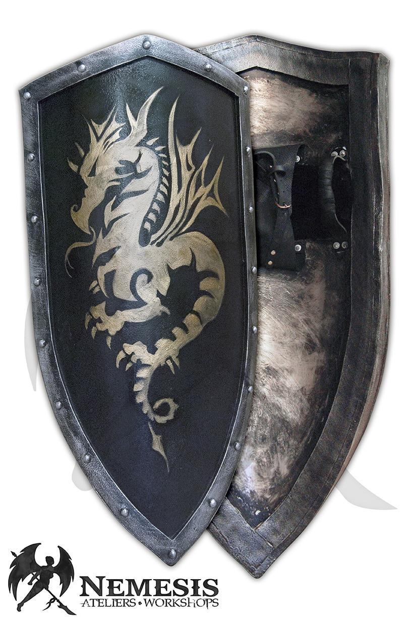 LARP dragon shield custom