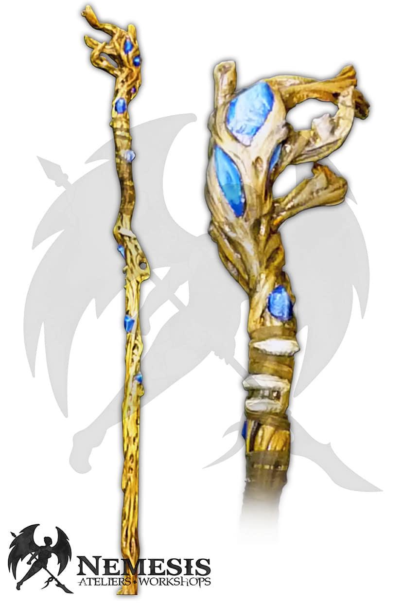 larp druid mage staff