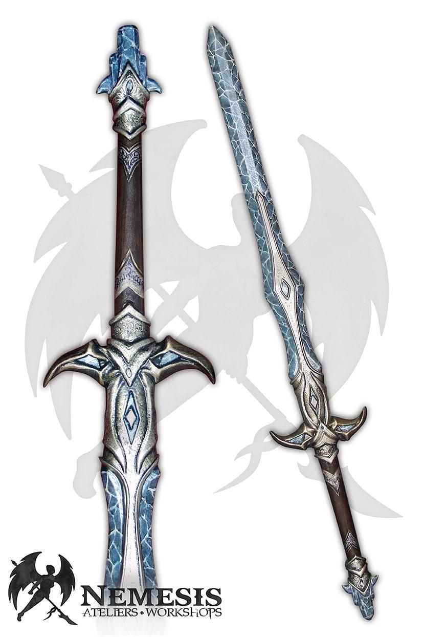 LARP eldar ice sword custom