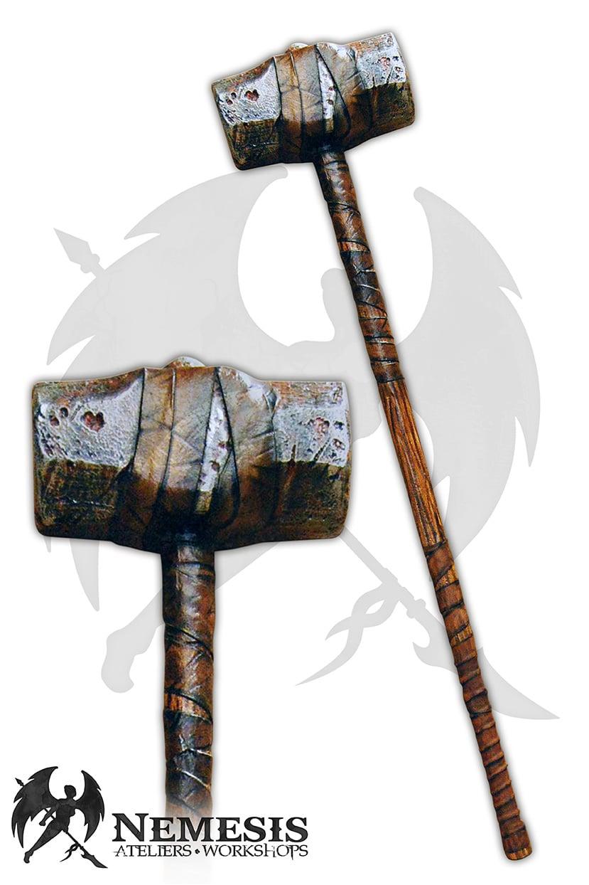 LARP sledge hammer rust custom