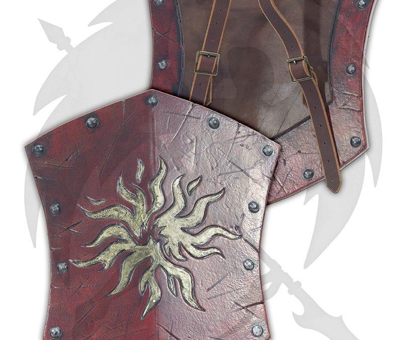 LARP small sun buckler shield