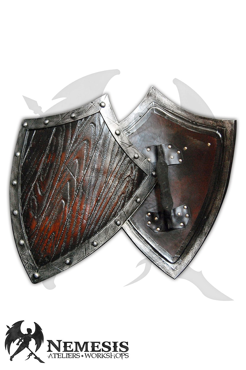 LARP small wood shield
