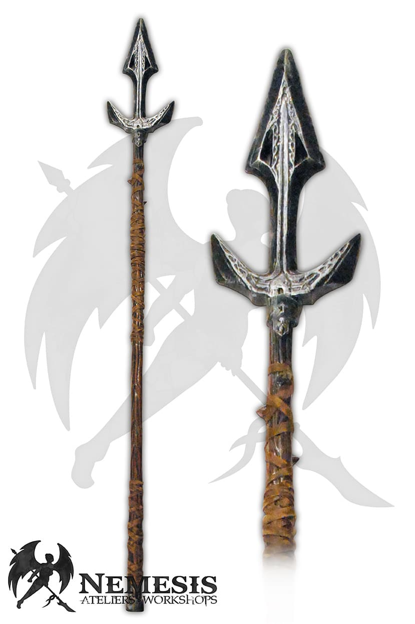 LARP spear custom fisherman