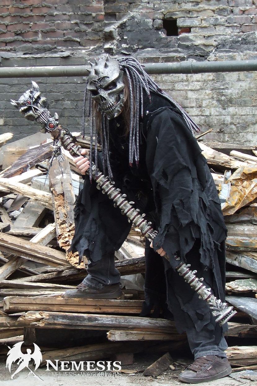 larp cosplay necromancer
