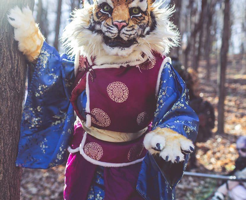 larp cosplay rakshasa tiger