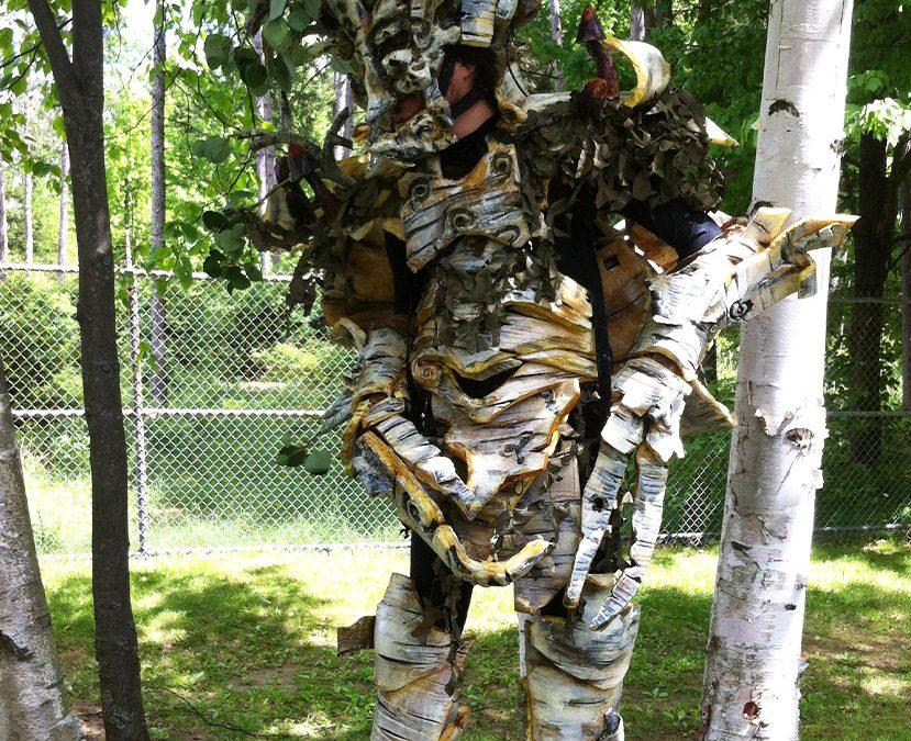 larp dryad bouleau tree