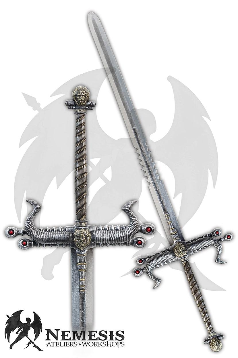LARP custom giant sword lion