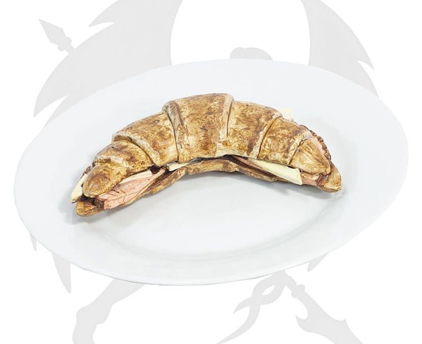 LARP croissant food ham