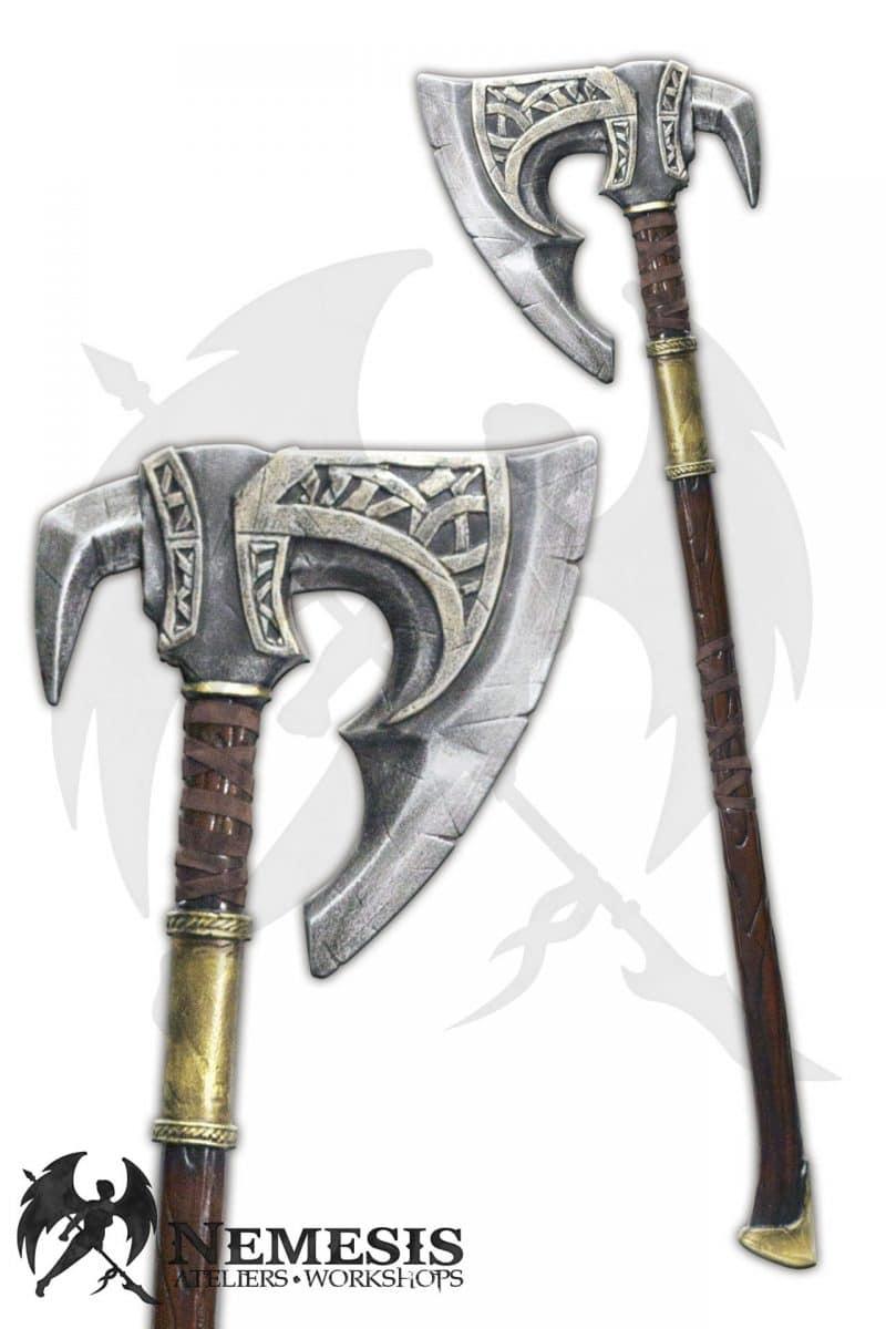 LARP great axe tribal barbarian
