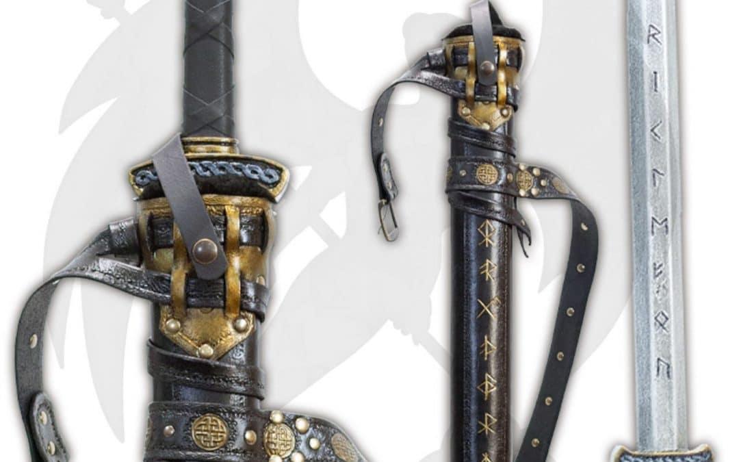LARP viking sword and scabbard